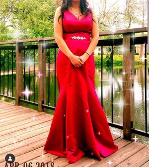 Burgundy Prom Dress for Sale for Sale in Dallas, TX