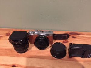 Fujifilm xm-1 with 2 lenses for Sale in San Diego, CA