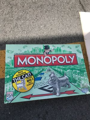 Brand new monopoly game board for Sale in Oakland Park, FL