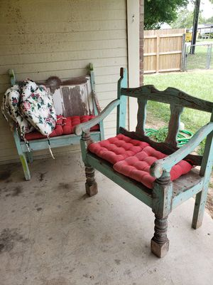 Beautiful refurbished antique benches for Sale in Lindale, TX