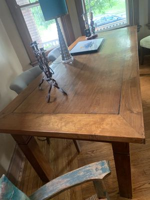 9 foot long ..... Antique TEAK table from Indonesia very unique excellent condition for Sale in St. Petersburg, FL