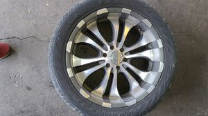 Rims And Tires Set Of 4. 305/40R22s $450 for Sale in Riverside, CA