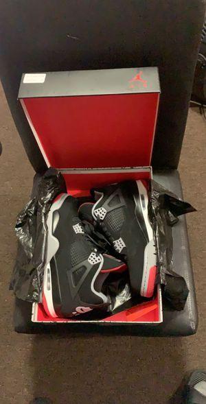 """Brand NEW Jordan 4 """"bred"""" sz.8.5 for Sale in Neptune City, NJ"""