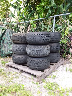 Used good golf car wheels and tires for Sale in Hollywood, FL