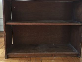 Dark Brown Wooden Shelf for Sale in Brooklyn,  NY