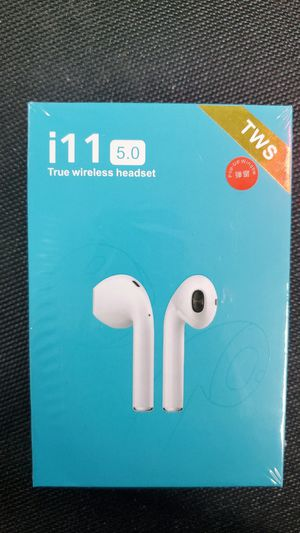 ( FREE SHIPPING NATIONWIDE ) ( PAY ONLY $40 ) TWS i11 5.0 #Airpods #Headphones wireless iphone & Android for Sale in Alexandria, VA