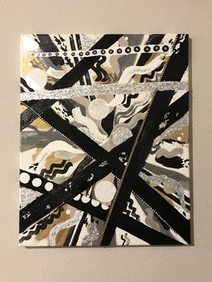 Hand Painted Abstract Art for Sale in Dallas, TX