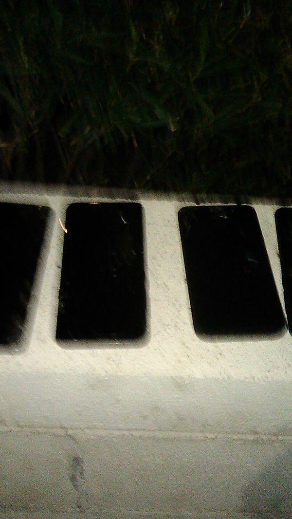 Cell phones locked and broken