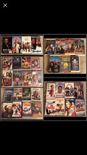 VHS TAPES‼️ for Sale in US