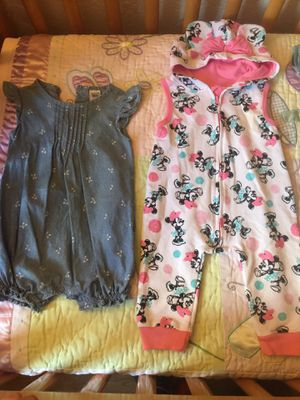 Babygirl 12 months carters/Disney baby for Sale in Santee, CA