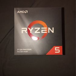 AMD ryzen 5 3rd gen processor 3600x for Sale in Philadelphia,  PA