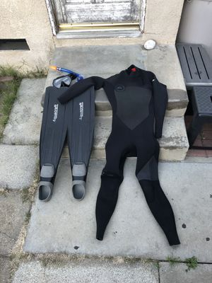 Diving Gear | Wet Suit Fins Mask for Sale in Los Angeles, CA
