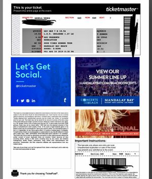 Rebelution Tickets!! for Sale in Perris, CA