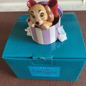 "WDCC Disney ""A PERFECTLY BEAUTIFUL LITTLE LADY"" Lady and the Tramp - Box & COA for Sale in Altamonte Springs, FL"