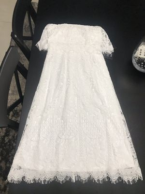 Lulu's White Lace Dress for Sale in Naperville, IL