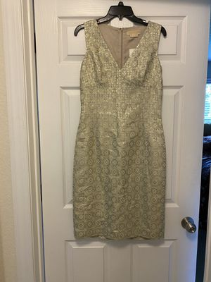 NWT Michael Kors gold dress for Sale in Jacksonville, FL