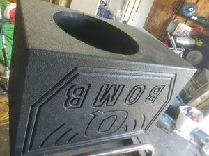 12in q bomb box for Sale in San Antonio, TX