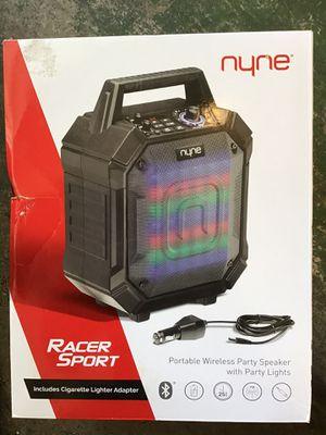 Nyne racer sport speaker for Sale in Cerritos, CA