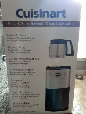 Cuisinart Coffee Maker for Sale in Orlando, FL
