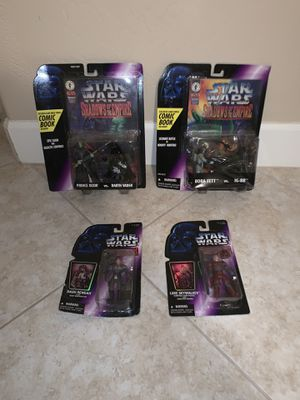 Lot of 4 Star Wars Shadows of the Empire 2000's for Sale in Gilbert, AZ
