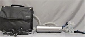 CPAP machine w/ bag, adapter, face mask, & hose for Sale in San Antonio, TX