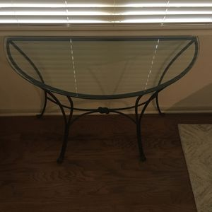 Wrought Iron Knot Glass Table for Sale in Dallas, TX