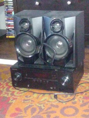 Stereo system 3 speakers has remote control for Sale in Odessa, TX
