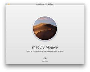 Mac OS Mojave 10.14 Installer for Sale in Danville, CA