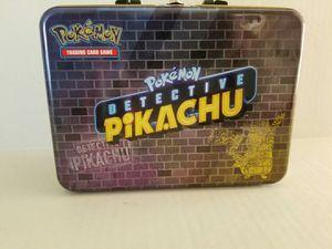 POKEMON DETECTIVE LUNCH BOX for Sale in Largo, FL