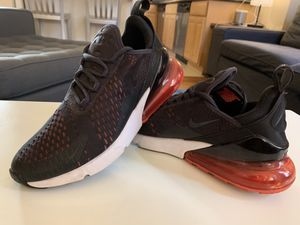 Nike Air Max 270 Shoes Black/Red/ White Women's size 8 for Sale in San Francisco, CA