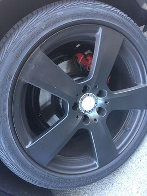 "MERCEDES W211 W212 E550 E350 18"" SPORT STAGGERED WHEELS RIMS RIM TIRES TIRE OEM for Sale in Hayward, CA"