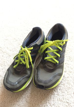 Adidas Energy Boost Men's Running Shoes Size 8 Green/Lime for Sale in Gainesville, VA