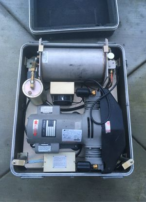Military grade medical air compressor for Sale in Puyallup, WA