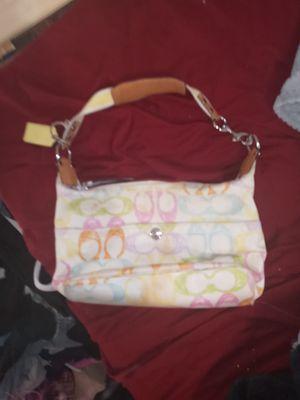 Super cute pastel coach purse for Sale in Auburn, WA