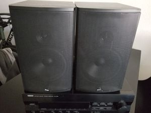 Yamaha receiver with Boston speakers for Sale in San Diego, CA