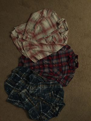 3 Women's plaid shirts. Size Small - S for Sale in Nashville, TN