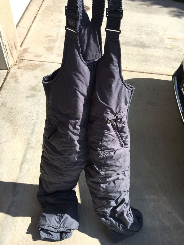 Snow bib needs repair on rear