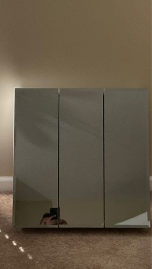 mfa 3.5 HOMFA Bathroom Wall Mirror Cabinet, for Sale in Houston, TX