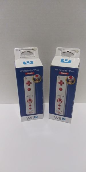 2 NIB Nintendo Wii Remote Plus Wii and Wii U for Sale in Lake Worth, FL