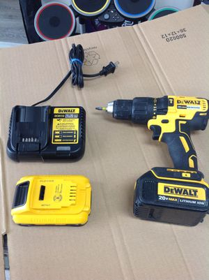 DeWALT 20V MAX DRILL SET for Sale in Dearborn Heights, MI