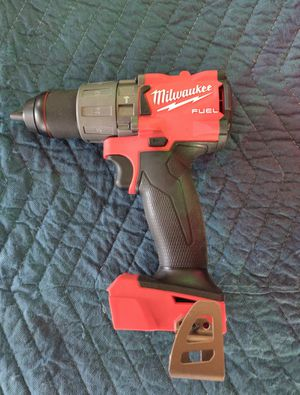 Milwaukee M18 FUEL 18-Volt Lithium-Ion Brushless Cordless 1/2 in. Hammer Drill / Driver (Tool-Only) for Sale in Tampa, FL
