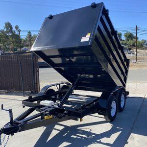 Brand New 8x10x4 Dump Trailer for Sale in Corona, CA