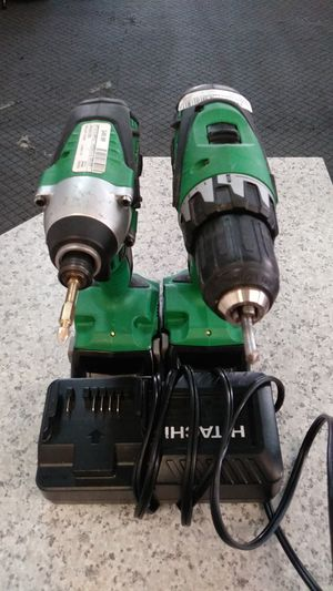 Hitachi cordless drill and impact driver combo for Sale in Denver, CO