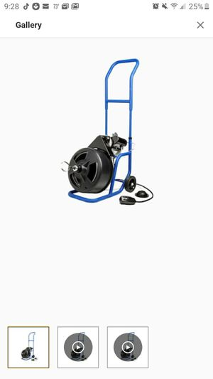 Auger machine for septic systems for Sale in Hillsborough, NC