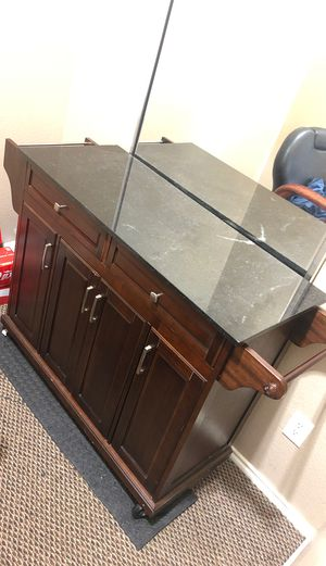 Kitchen Island rolling cart for Sale in Grand Prairie, TX