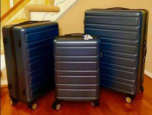 3 Piece Hardshell & Lightweight hardside Spinner Suitcase for Sale in Bellevue, WA