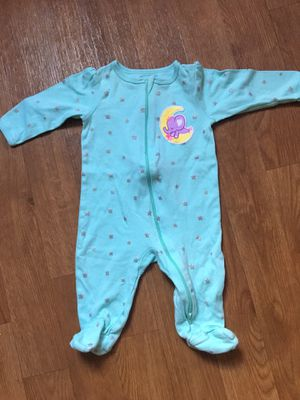 Babygirl pajamas 3/6 months for Sale in El Cajon, CA