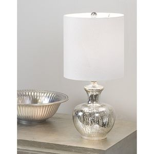 Silver Glass Table Lamp for Sale in Orlando, FL