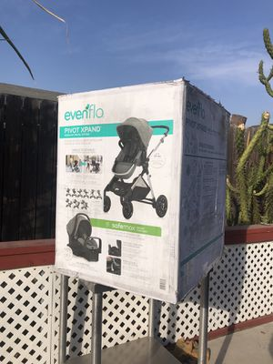 Evenflo Pivot Xpand Modular Travel System for Sale in San Bernardino, CA