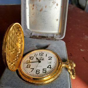 Reloj De Bolsillo Gold Plated Nuevo No Pila for Sale in Lynwood, CA